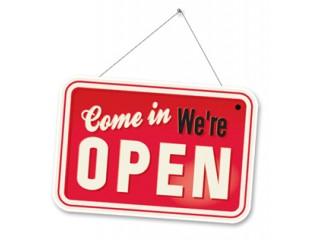 Открытие магазина!